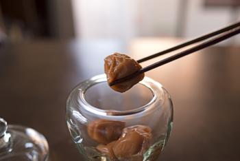 日本の保存食の代表格「梅干し」。梅干しにはクエン酸やビタミンEなどが含まれており、疲労回復効果や血液サラサラ効果が期待ができると言われている日本古来から伝わる保存食です。