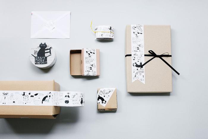 こんな素敵なクラフトテープで贈り物が送られて来たら、みんな幸せ気分に♪空き箱に、ノートに、お手紙を封する時のシールとして…アイデア次第でいろいろな使い方を楽しめそう!