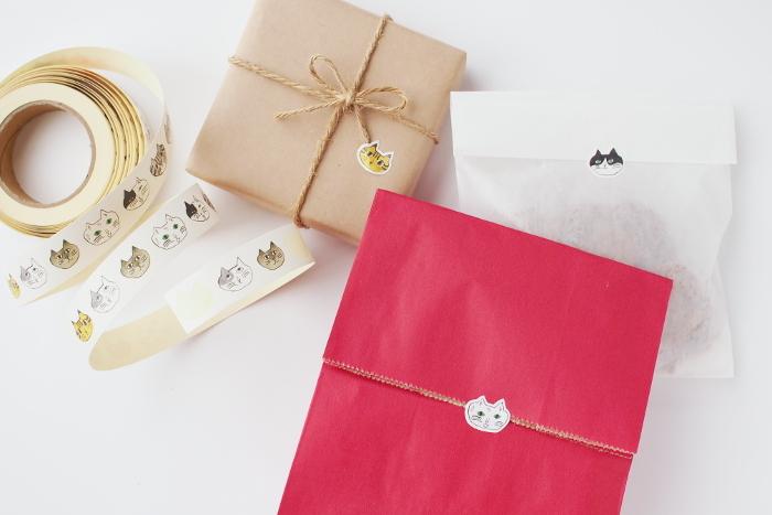 お菓子のおすそ分けに、プレゼントのラッピングの飾りつけとして… スケジュール帳を可愛くコラージュしても面白いかもしれません。 一枚でも複数でも、その時の気分で、楽しく、自由きままに貼り付けてみてはいかがでしょう。