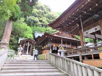 社の鎮座は131年と伝わる歴史ある「日牟禮八幡宮(ひむれはちまんぐう)」も、八幡堀とともに訪れたいコースです。