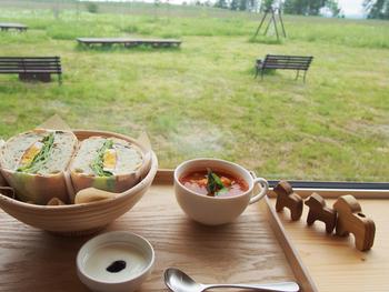 心を癒してくれる眺めや、自然とのふれあい、そして地元食材の恵み。さまざまな形で自然を感じられる北海道のカフェ9軒をご紹介しました。