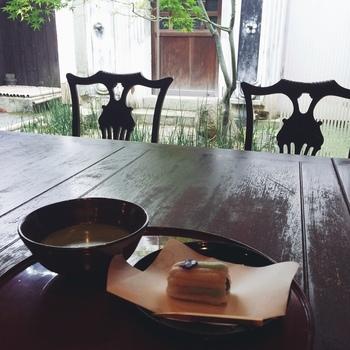 お菓子のおいしさは折り紙付きなので、もちろんカフェとしてもおすすめのお店です。