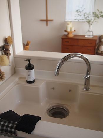 キッチンも意外と目の届く場所です。余計なものが置いていないかチェックしておきましょう!