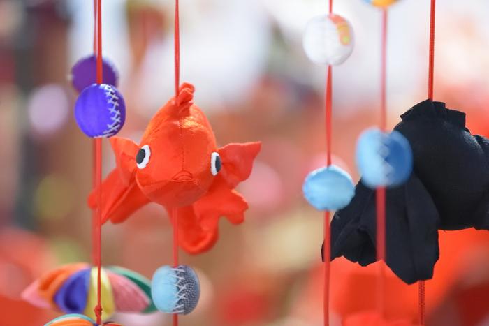 大和郡山市は全国的に有名な金魚の産地。「平和のシンボル、金魚が泳ぐ城下町」をキャッチフレーズに、金魚の看板から金魚のマンホール、金魚が泳ぐ自動改札機や金魚が描かれたフェンス、金魚資料館などなど町中何処も彼処も金魚で溢れています。  ●奈良市内からのアクセス 「近鉄奈良駅」~近鉄奈良線~「大和西大寺駅」~近鉄橿原線~「近鉄郡山」(約20分)