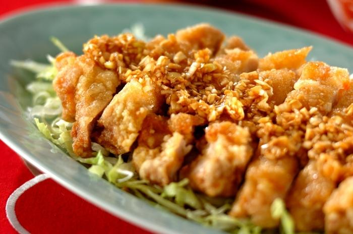 おなかも心も満たしてくれる、たまらないおいしさの中華・ユーリンチー。おもてなしのテーブルはもちろん、元気をつけたいときのパワーメニューとしても覚えておきたいですね。
