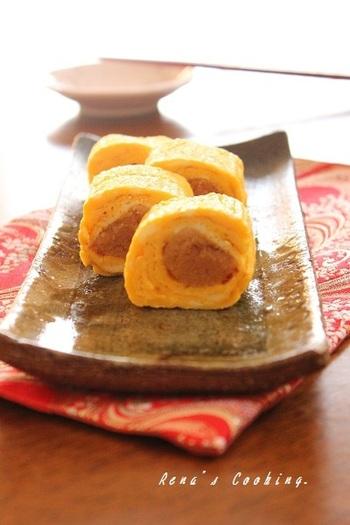 だしみつを加えれば、いつもの卵焼きもまるで料亭のような上品な味わいにワンランクアップ!明太子を巻いたり、ねぎを加えてみたり…いろんなアレンジを楽しんで♪
