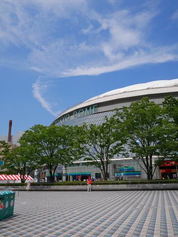 東京ドームがシンボル的存在の水道橋エリア。スポーツ観戦やコンサート、隣接のアミューズメントエリアへ遊びに訪れたことがあるという人もいるのではないでしょうか。また、水道橋駅・後楽園駅・春日駅・本郷三丁目駅など、徒歩圏内でいろんな沿線を利用できるのでたくさんの人が集います。