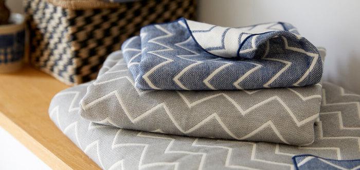 洗面所などには新しいゲスト用のタオルを用意しておくと、清潔感があり気持ちよく過ごしてもらえますね。