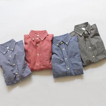 定番アイテムのチェック柄シャツは、合せるアイテムや着こなし方によって、可愛らしくも、大人っぽくも着こなすことができます。 ぜひ長袖のチェック柄シャツを秋コーデに取り入れて、色々な表情を楽しんでみてくださいね♪