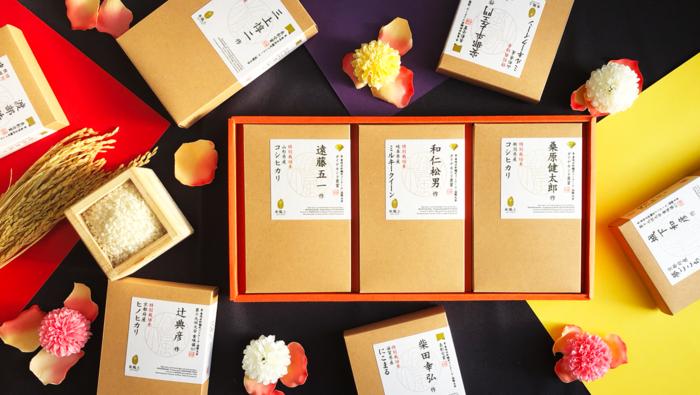 最後に、ご紹介するのはちょっぴり贅沢なお米。お米のソムリエと呼ばれる『米・食味鑑定士』が選んだお米を厳選して販売する「米百選」。日本を代表する米職人が集結する「米風土(まいふうど)」ブランドのお米を中心とした、おいしいお米が販売されています。