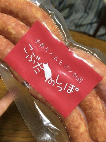 お土産にピッタリなソーセージやコンビーフ、蒸し豚などが売られています。イートインもできるのでゆっくり食べてからお土産選びするのもいいですね。もちろん、パンをテイクアウトすることもできます。