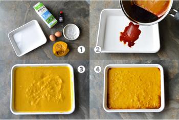オーブンも使えてそのまま冷蔵庫にも入れられるホーローバットも、プリンを作るにはおすすめ!小さなホーローのお皿やマグカップなら、カラメルソースだってそのまま作れます。