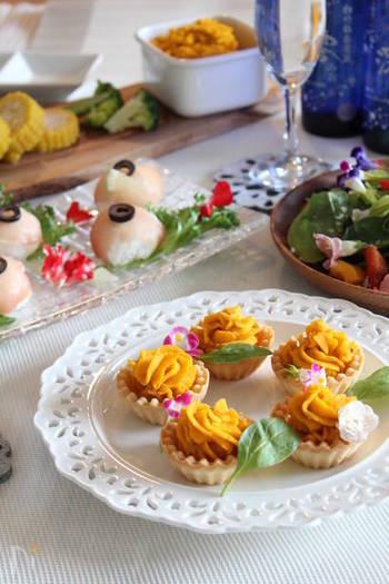 優しい甘さが美味しい一品はお子様の誕生日パーティーにもおすすめです。見た目鮮やかでインスタ映えしそう。
