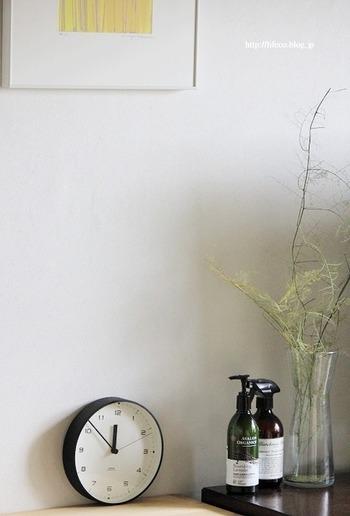 オシャレなデザインのボトルなら、お部屋のインテリアとしても馴染むので、使いやすいところに出しっぱなしにしておくことができますよ。