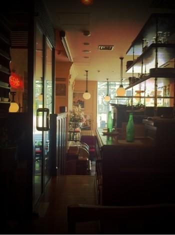 この界隈では最古とも言えるお店の雰囲気を味わって♪