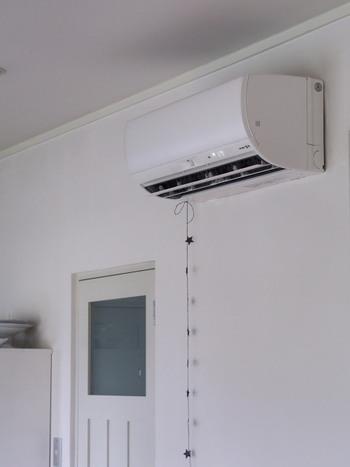 エアコンも大活躍した家電のひとつです。室内の空気を吸い込むときに埃が中に入るので、定期的に埃を取り除く必要があります。また、エアコン内部で結露したときにカビが発生してしまうこともあります。季節の変わり目にはぜひすっきりさせてあげましょう。