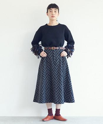 秋が近づいてくると、欲しくなるニットアイテム。 今年はぜひ個性派のアイテムをチョイスして、秋冬ファッションにおしゃれなスパイスを加えてみてくださいね♪