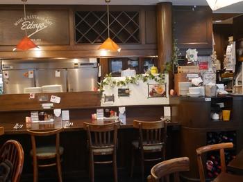 昔懐かしいレトロな雰囲気の店内。地元の家族連れも多く訪れるアットホームなお店です。