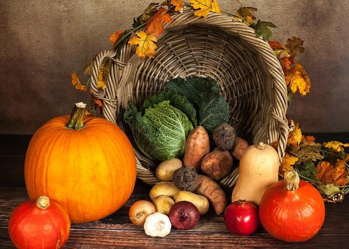 秋は、きのこ・さつまいも・れんこん・銀杏など、様々な野菜や木の実が旬を迎えます。甘みやホクホク感など、旬ならではの美味しさを活かした料理を楽しみたいものですね。