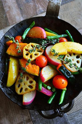 ほっくり野菜・きのこ・果物etc…旬を迎える「秋の味覚」が主役のレシピ大集合♪