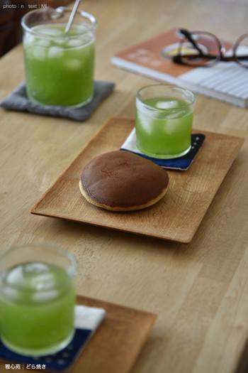 濃厚でコクがある玉露は、甘いお菓子とよく合います。しかもビタミンやアミノ酸が豊富なので、おやつを食べながら美容面でもサポートしてくれるのが嬉しい。