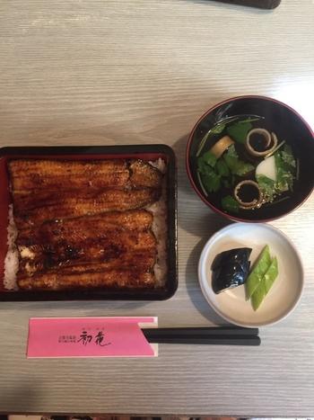 せっかくの日帰り旅行だから贅沢してお風呂上りに鰻はいかがですか?ふわふわの鰻と甘辛い絶品ダレは、食事のみに訪れる人も多いほどの人気ぶりです。