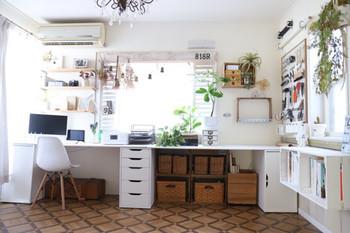 モノづくりが好きな人にとって、DIY専用の部屋があるなんて憧れですよね。