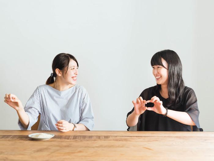(左:町田さん 右:塚原さん)