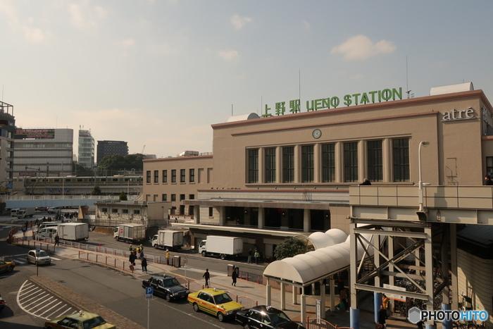 アメ横はいくつかの駅に隣接しているので、それぞれの駅からのアクセス方法をご紹介します。