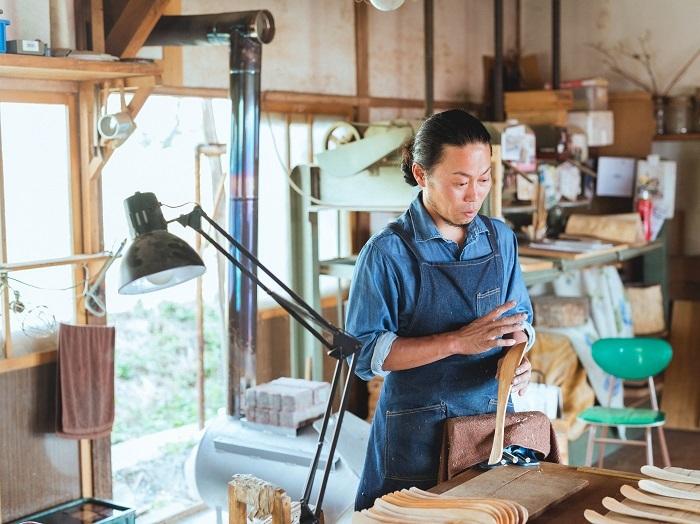 vol.89 大久保ハウス木工舎・大久保公太郎さん - 使い手の声を聞いて。変化を続ける木の道具たち