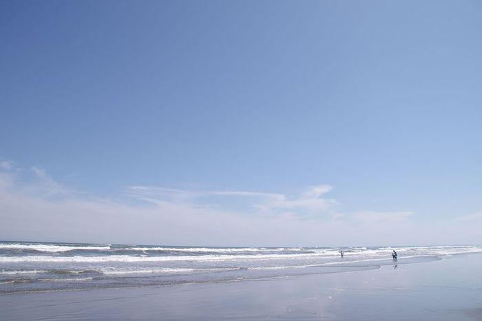海沿いの観光スポットもぜひ足を運んでみましょう。房総半島の東岸にある全長約66キロの「九十九里浜(くじゅうくりはま)」は、日本の白砂青松100選と日本の渚百選に選定されている美しい海岸です。広い砂浜と大海原は、海水浴シーズン以外でも開放感を楽しめます。