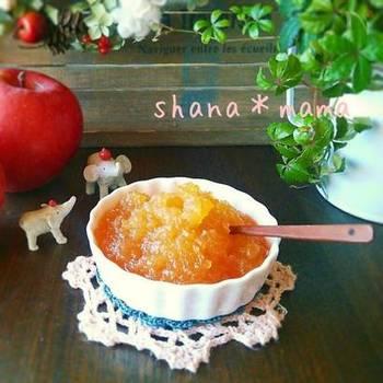 わざわざ鍋で煮るのが面倒だな…と感じたときには、レンジでりんごジャム作ってみませんか?りんご1個から手軽に出来るので、ちょっと食べたい!そんなときにおすすめです。
