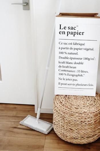 電気を使わないモップやほうきは、軽量で扱いやすいので使用頻度が高いお掃除アイテム。 家具の隙間に隠せておけるコンパクトさも魅力です。 日々のお掃除だって十分まかなえるほど、性能が良いものも増えていますよね。