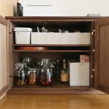 収納したいものによって、通常サイズとハーフサイズを使い分けるとワンランク上の収納がかないそう!