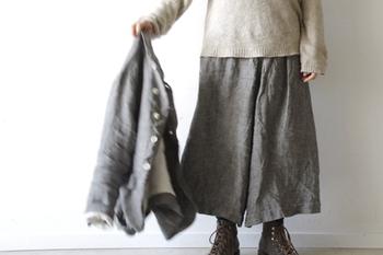 コーディネートにきちんと感が備わるジャケット。着こなし方次第では、まだまだいろんなスタイルが楽しめるアイテムです。ぜひ参考にして、みなさんも新しい秋のジャケットコーデを考えてみてくださいね♪