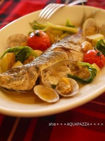 手に入りやすい鯵なら、すぐにトライできますね。 「魚は切り身や、調理済みのものを利用しても美味しくお手軽に出来ます」(by作成者の宮沢さん)。アジの煮崩れだけはご用心。