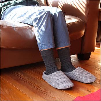 心から安らげる落ち着ける空間・お部屋で、あなたはどんなルームシューズを履いていますか?