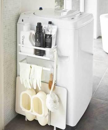 お掃除をする時には洗剤やスポンジなど様々な道具が必要ですが、あらかじめ「お掃除グッズ」を準備しておくと、スムーズに作業を進めることができますよ。