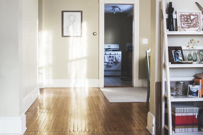 鉛筆のあたたかみのある線がナチュラルな印象のポスター。どんな部屋にも合わせやすいですね。