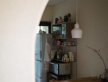このA440は、キッチンや寝室などのほかに照明がある場所のセカンドライトとして使うと、ほんのりと灯るあかりが適度な明るさを放ち、空間をセンス良く、落ち着いた雰囲気にしてくれます。