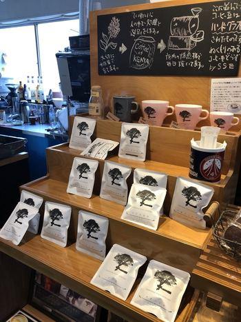 コーヒー豆を購入することもできるので、浅草橋・蔵前でテイクアウトしたパンと一緒におうちでいただくのもおすすめです。