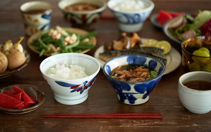 毎日の食卓の中心になる飯椀&汁椀。ぜひ、何パターンかそろえて、料理に合わせて楽しんでみませんか?素敵なお椀と出会ったとき、お米はさらにさらにおいしくなります。