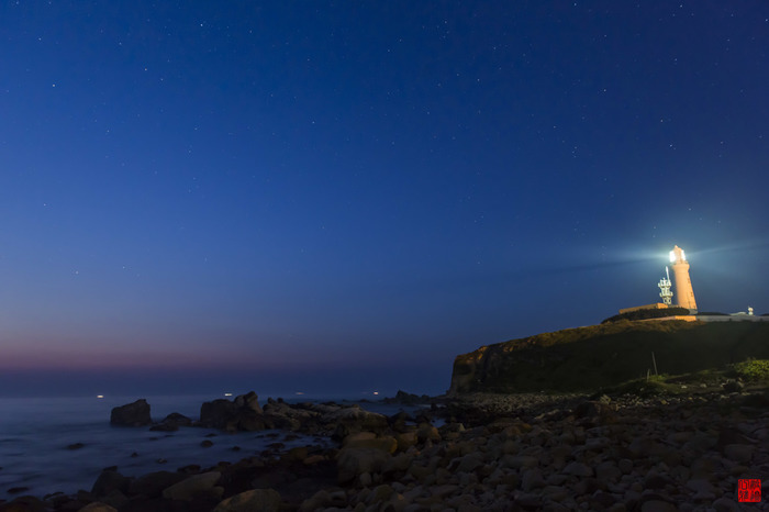 潮の湯と黒潮の湯、2つの源泉が存在する犬吠埼温泉。岬には最大の第1等レンズを使用した犬吠埼灯台がシンボルとしてそびえ立っています。