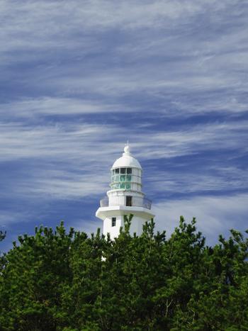 真っ白で美しいその姿から「白鳥の灯台」とも呼ばれるこちらのスポットは、なんと日本で2番目に古い灯台。房総半島の最南端にあり南房総市のシンボルとしても知られています。