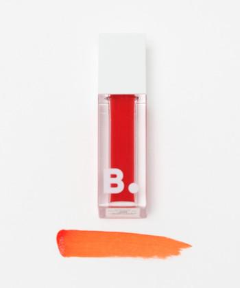 オレンジ系のリップ初心者さんは、まずはグロスからトライ。特に透明感のある色が使いやすいですよ!