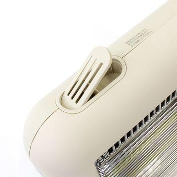 スチーム機能も付いているので加湿効果もあり、肌や喉を乾燥から守ってくれます。体調管理も助けてくれる優しいヒーターです。