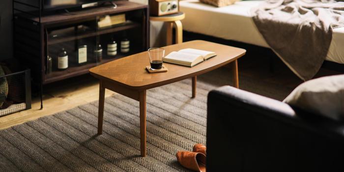 インテリアでの家具の配置は、快適に暮らすためにはとても大切です。少しでも気持ちよく過ごせるように、折り畳み家具で工夫できれば、楽しいお部屋づくりに近づけますね。