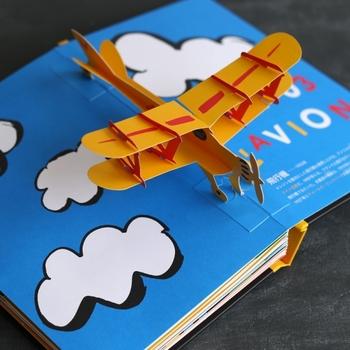 ユニークな仕掛けや可愛いイラストを楽しみながら、先人たちの数々の発明について知ることができます。絵本から飛び出す飛行機に触ったり、仕掛けを引っ張って花火を打ち上げたり。子どもはもちろん、大人も童心にかえって楽しめる素敵な一冊です。