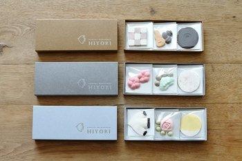 和三盆は、徳島や香川などの四国東部の伝統的なお砂糖で、高級菓子の原料としても使われています。見た目も上品で華やかなので贈りものにぴったりです。穏やかなほっとできる時間を演出してくれるので、日頃忙しい方の贈りものにも◎。