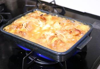 魚焼きグリル以外にも、オーブンや電子レンジ(IHはNG)、さらには直火での調理ができるので、料理の幅が広がります。